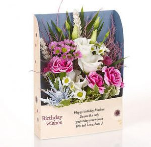 flower cards by post uk