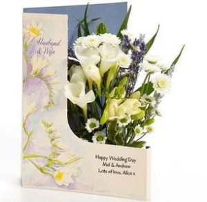 wedding flower cards