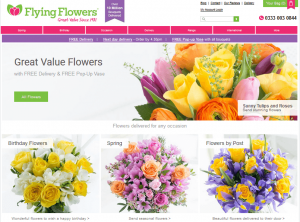 tesco flowers uk