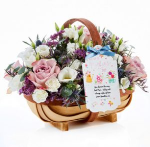 Mother's Day Flowers Gift Trug