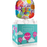 Happy Retirement Balloon - Balloon in a Box Gifts - Balloon Gifts - Balloon Gift Delivery - Retirement Balloons