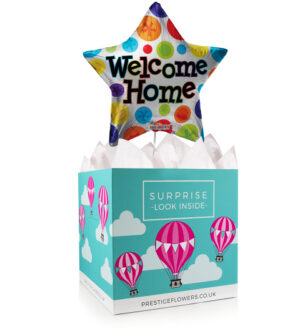 Welcome Home Balloon - Balloon in a Box Gifts - Balloon Gifts - Balloon Gift Delivery - Welcome Home Gifts